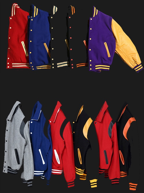 PERSONALISED GREAT QUALITY KIDS VARSITY JACKET FOOTBALL AND ANY LETER OR NUMBER